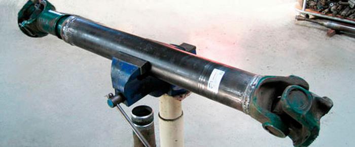 Укорачивание и удлинение карданного вала