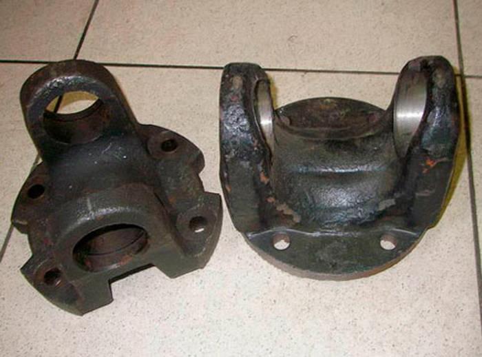 Восстановление фланца карданного вала