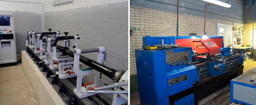 Балансировка и ремонт карданного вала осуществляется на сертифицированном оборудовании