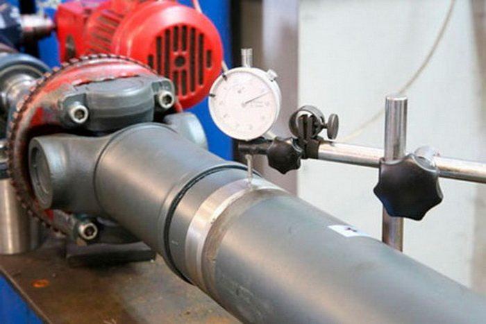 При удлинении валов, используют только аналогичный металл, с теми же свойствами и характеристиками